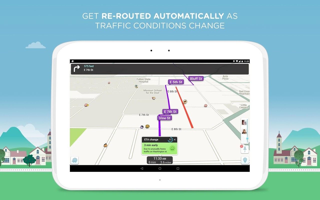 Waze Social Gps Maps Traffic Apk Free Android App