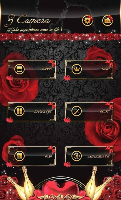 Z Camera Valentine S Day Theme Free Android Theme Download Appraw