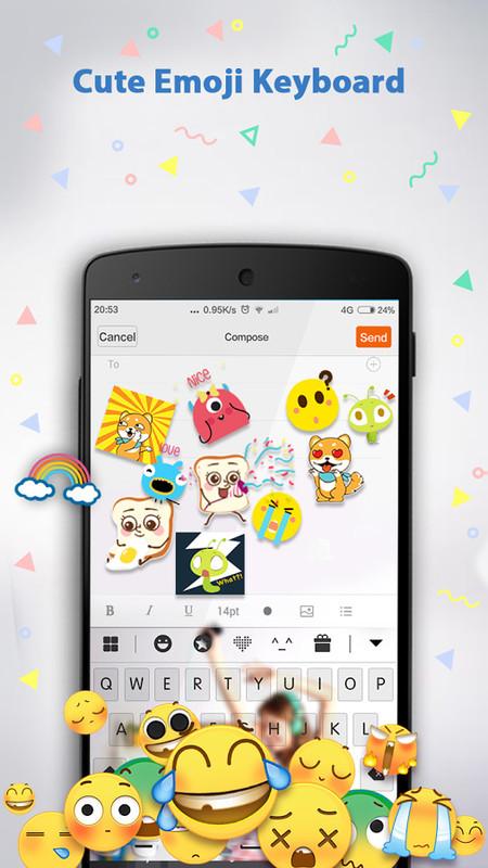 Emoji Keyboard &hearts