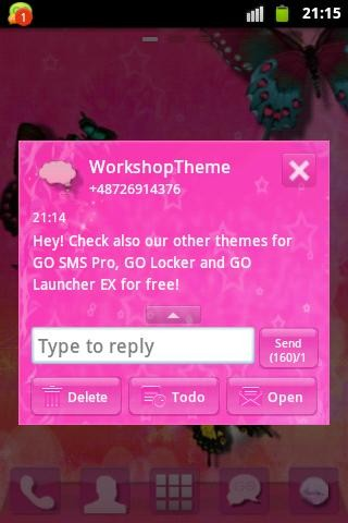 sms free themes