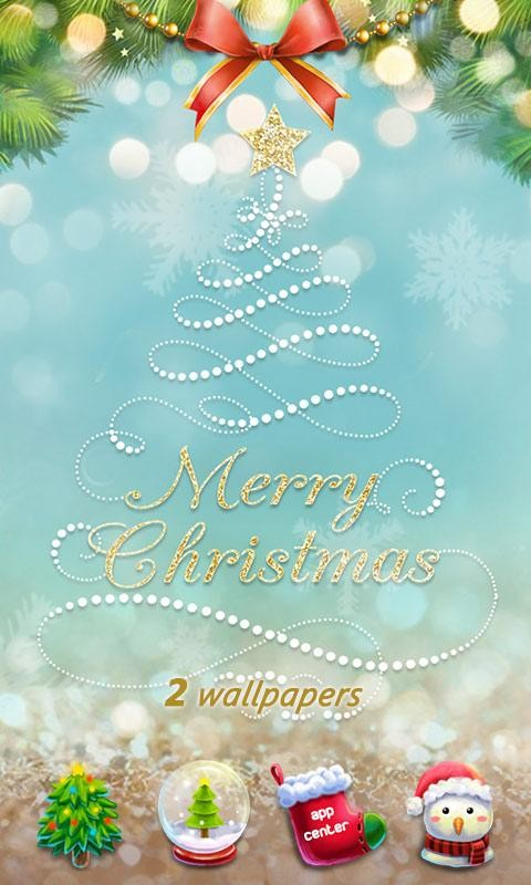 free xmas go launcher theme - Christmas Themes Free