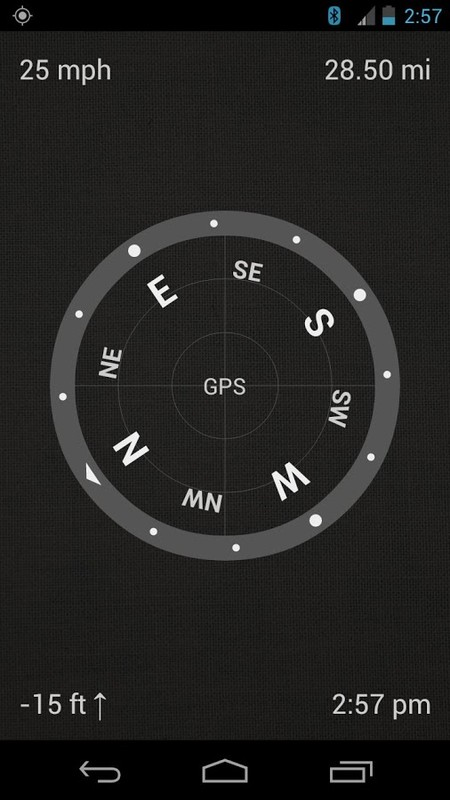 Gps App That Uses Front Glass Of The Car