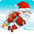 Flying Santa Gifts Icon