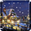 Snow Night Live Wallpaper HD Icon