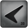 Glass Tech 3D Live Theme Icon