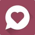 Chat, Flirt & Dating ♥ JAUMO Icon
