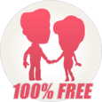 YoCutie ♥ 100% Free Dating App Icon