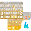 Golden Bow Kika Keyboard Theme Icon