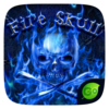 FireSkull GO Keyboard Theme Icon