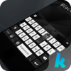 Black & White Keyboard Theme Icon