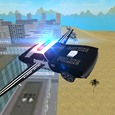 Flying Police Car: San Andreas Icon