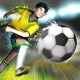 Striker Soccer Brazil Icon
