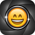 Emoji Camera Sticker Maker Icon