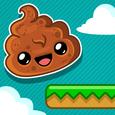 Happy Poo Jump Icon