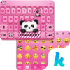 Lovely Panda Kika Emoji Theme Icon