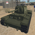 Battle Tank Driving Icon