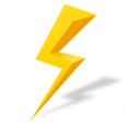 Yellow Booster Icon