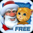 Talking Santa meets Ginger Icon