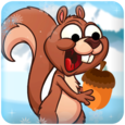 Squirrel On Iceland Icon