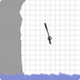 Stickman Cliff Diving Icon