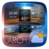 Arch GO Weather Widget Theme Icon