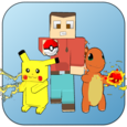 Cube Craft Go: Pixelmon Battle Icon