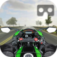 VR Traffic Bike Racer Icon