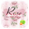 (FREE) GO SMS PRO ROSE THEME Icon