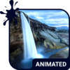 Waterfall Animated Keyboard Icon