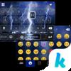 Lighting Storm Kika Keyboard Icon