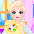 Ice Queen Give Birth To A Baby Icon