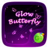 Glow Butterfly Keyboard Theme Icon