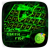 Green Fire GO Keyboard Theme Icon