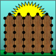Fence Post Plotter Icon