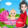 Newborn baby care games Icon