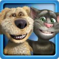 Talking Tom & Ben News Free Icon