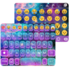 Galaxy Glitter Keyboard Theme Icon