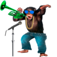 Talking & Singing Monkey Icon