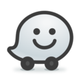 Waze Social GPS Maps & Traffic Icon