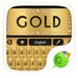 gold go keyboard theme Icon