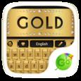 gold go keyboard theme Icon