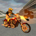Road War Bike Icon