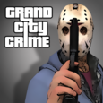Grand City Crime Gangster game Icon