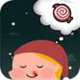 Falling Down Candy Icon