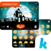 Halloween Animated Kika Theme Icon