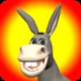 Talking Donald Donkey Icon