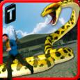 Angry Anaconda Attack 3D Icon