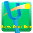Sling Shot Bird Fling Game Icon