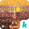 Rainy Paris Keyboard Theme Icon