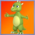 Dinosaur Puzzle Game For Kids Icon
